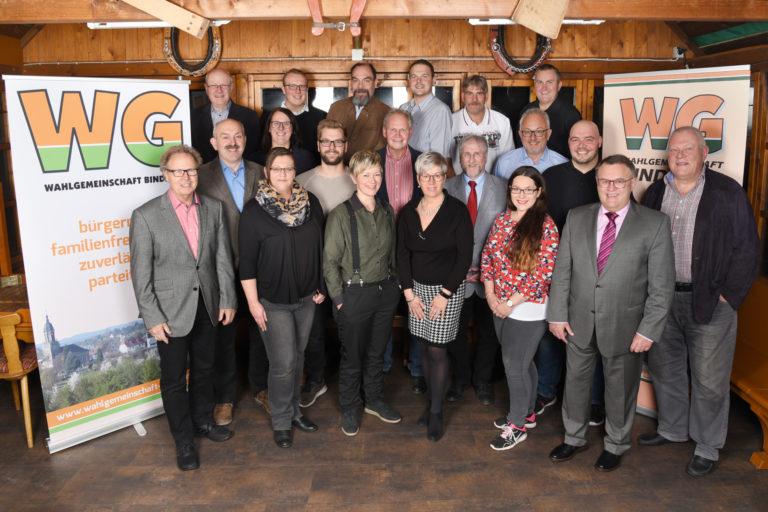 WG Nominierungsversammlung - Starke Mitte für Bindlach